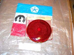 NOS-MOPAR-1937-38-PLYMOUTH-DODGE-DESOTO-TAIL-LAMP-LENS-669459