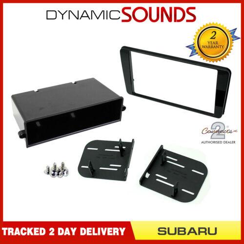 CT23SU15 Double Din Stereo Fascia Adaptor Black For Subaru BRZ 2017 Onwards