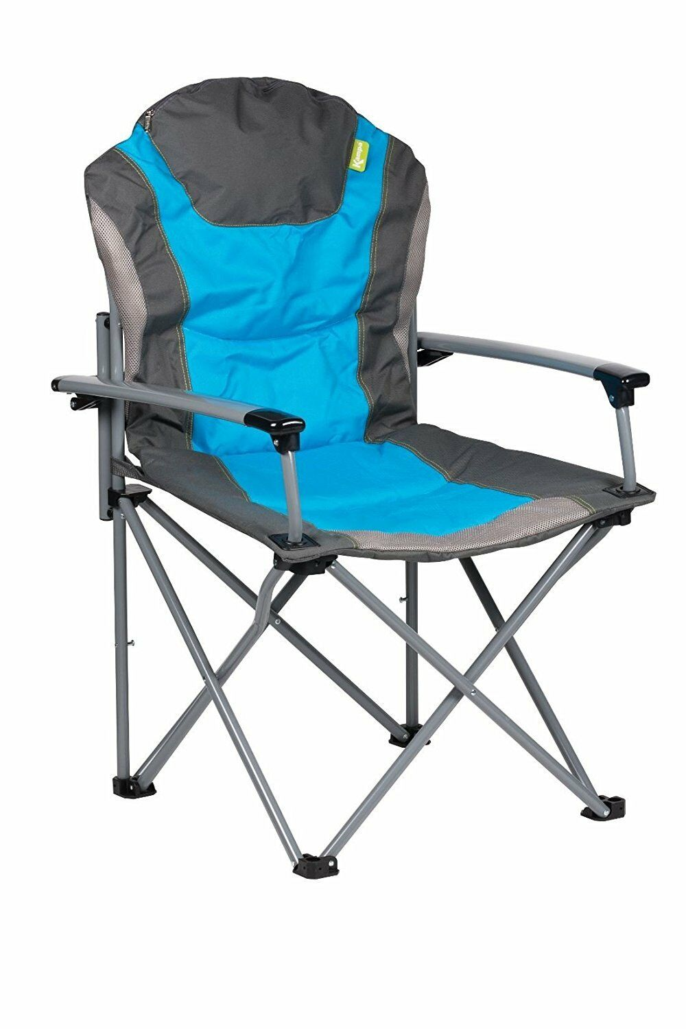 GUV'NOR FOLDING LIGHTWEIGHT CAMPING ARMCHAIR seat seat seat is a foldable Blau chair 0b14be