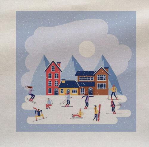 Tapicería de tela de algodón de invierno de esquí Guateado Talla PERSONALIZADA PAÑO Craft