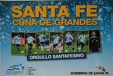 Copa America Argentina 2011 Aufkleber Sticker Werbekarte Santa Fe