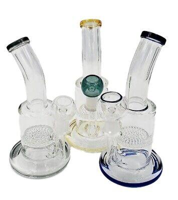 Hookah Water Pipe Glass Bubbler 8/'/' Fish Art Design Hook Bubbler Large