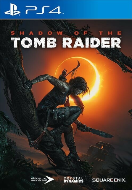 Tomb raider shadow of the tomb, PS4, action, Brugt et par…