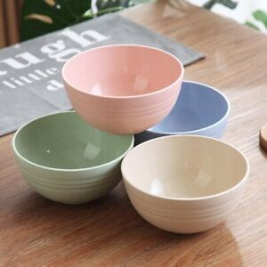 Reusable-Wheat-Straw-Plastic-Bowls-Safe-Cereal-Bowl-Dinnerware-Set-4-Mbyss