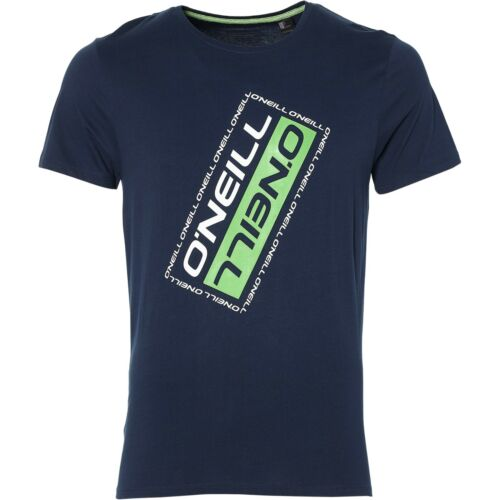 O/'NEILL MENS T SHIRT.NEW SLANTED BLUE CREW SHORT SLEEVED COTTON TEE TOP 8W 30 50