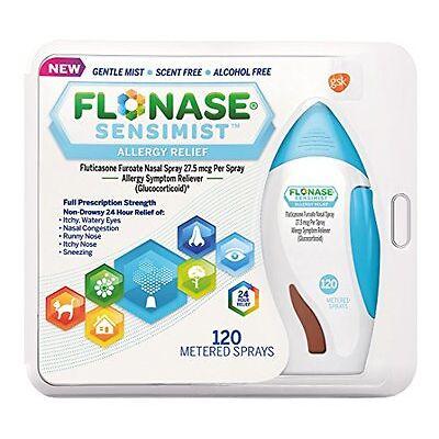 Flonase Sensimist Allergy Nasal Spray 120 Sprays Each