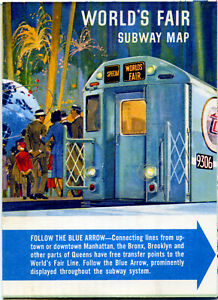 Ny City Subway Map.Details About New York City Subway Map Guide 1964 New York City World S Fair 4173
