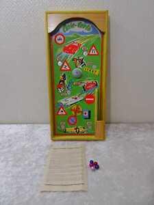"DDR Design tivolispiel ""autocorso"" flipper madera-vintage para 1960"