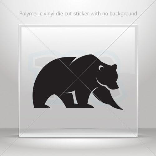 Sticker Decal Bear Figure Atv Bike Garage bike polymeric vinyl st5 ZK52W