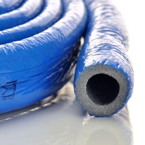 ROT und BLAU  Rohrisolierung  Isolierschlauch  10m 4-6mm x 15,18,22,28,35