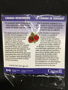 CANADA-REMEMBERS-DUAL-POPPY-MAPLE-LEAF-LAPEL-PIN