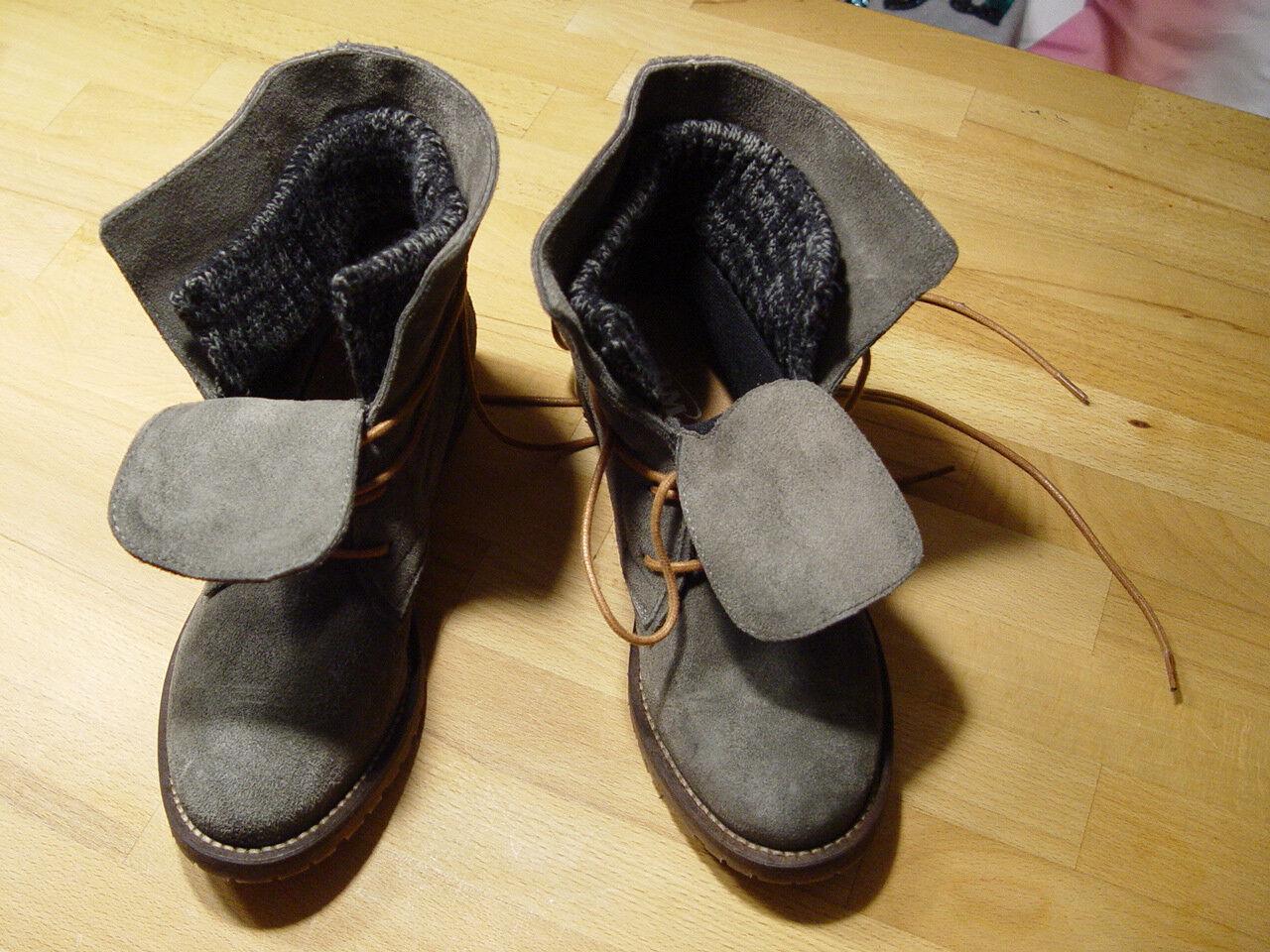 Sehr schöne SPM Stiefel in der Farbe Grau Gr.37 NEU und ungetragen, TOPZUSTAND