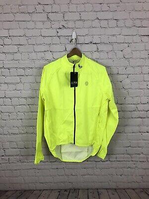 Dare 2b Men/'s Mediant Full Zip Reflective Cycling Jacket Yellow