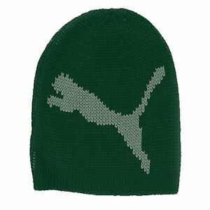 New Puma Chunky Cable Knit Unisex Lifestyle Winter Beanie Hat Woolie ... 10c2ccad035