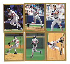 1999 TOPPS MLB BASEBALL MONTREAL EXPOS TEAM SET (10) WHITE,GUERRERO,PAVANO