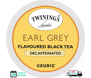 Twinings Earl Grey DECAF Keurig Tea K-cups YOU PICK THE SIZE