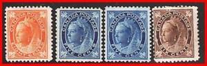 CANADA-1897-VICTORIA-SC-70-MH-OG-sm-THIN-70-72-MINT-NG-CV-765-00