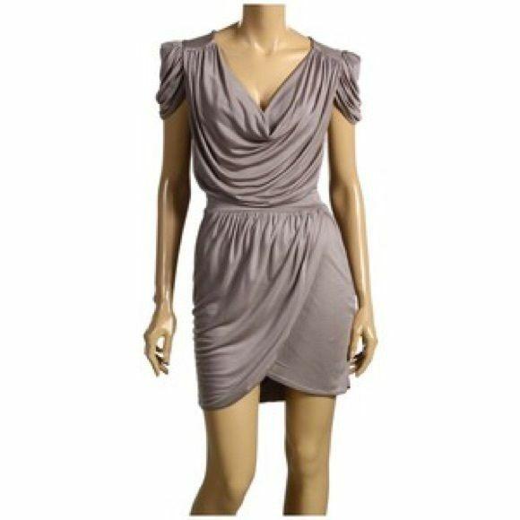 FRENCH CONNECTION Brand Drape Crowl Neck Dress Größe 12 BNWT  TB71