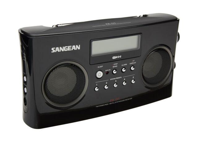 Sangean Pr-d5 Am/fm Portable Radio With Digital Tuning and RDS | eBay