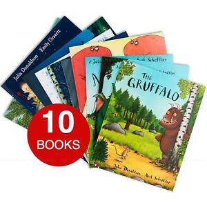 Julia-Donaldson-X-Collection-Gruffalo-Gruffalo-039-s-Child-Kids-Stories-10-Books-Set
