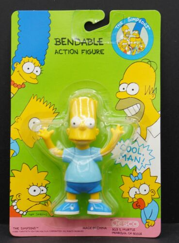 Bart Simpson action figure by Jesco 1990 MOC