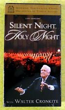Silent Night, Holy Night ~ VHS Movie ~ New Mormon Tabernacle Choir Concert Video
