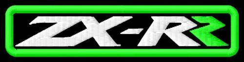 Kawasaki ZX RR 6R 7R 9R 10R 12R 400 636 700  Aufnäher iron-on patch