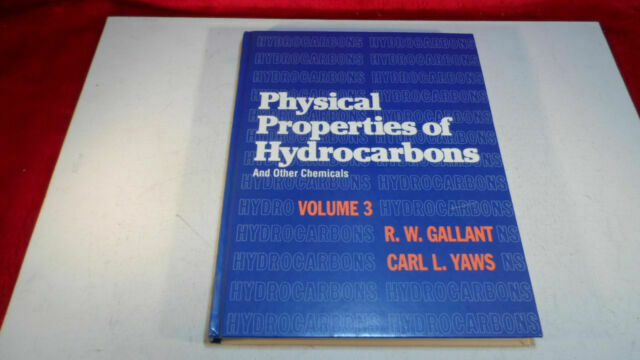 Physical Properties of Hydrocarbons and Other Chemicals, Volume 3