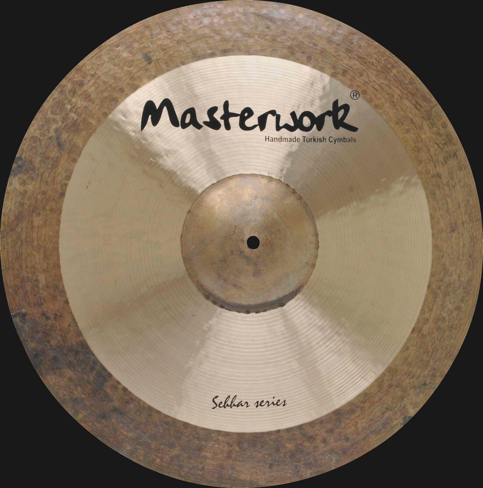 Masterwork Cymbals Sehhar Series 18-inch Sehhar Crash Dark