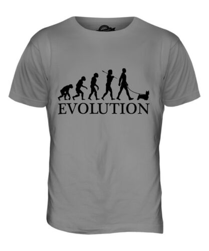 CAIRN TERRIER EVOLUTION OF MAN MENS T-SHIRT TEE TOP DOG LOVER GIFT WALKER