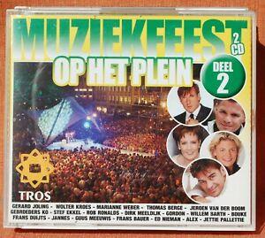MUZIEKFEEST OP HET PLEIN - DEEL 2  -- ***  2 CD BIG  BOX ***