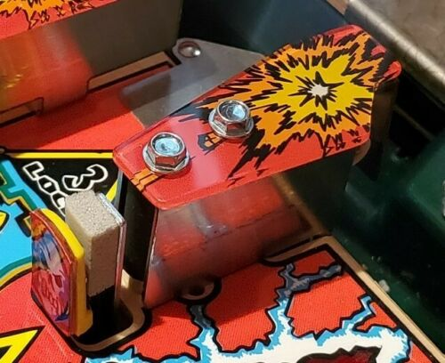 MOD Medieval Madness Pinball Machine Missing Drawbridge Moat Entry Gate Plastic!