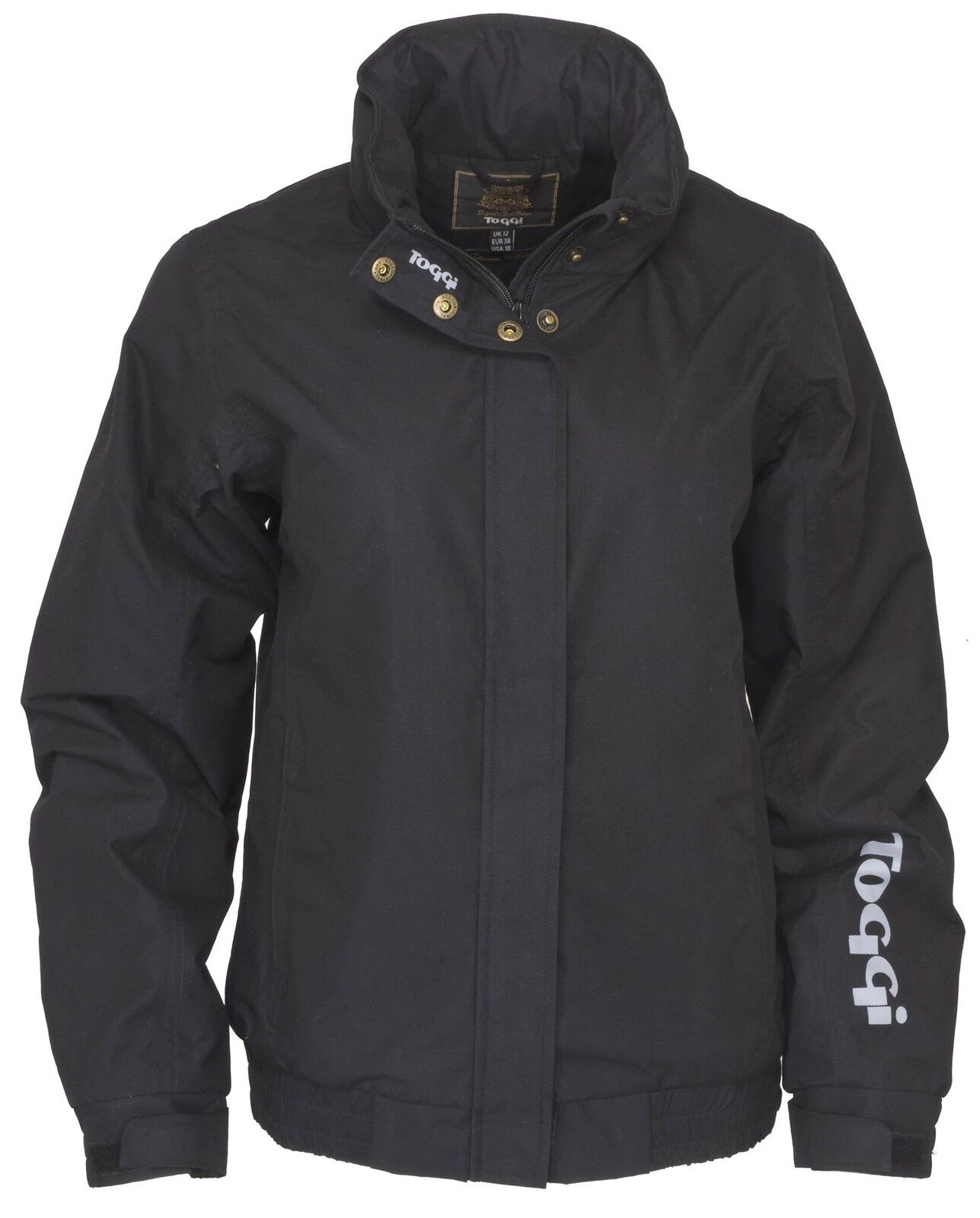 Toggi atley Donna Equine Country Walking Impermeabili Equitazione Giacca Ripstop