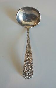 Estate Stieff Sterling Silver Stieff Rose Gravy Ladle
