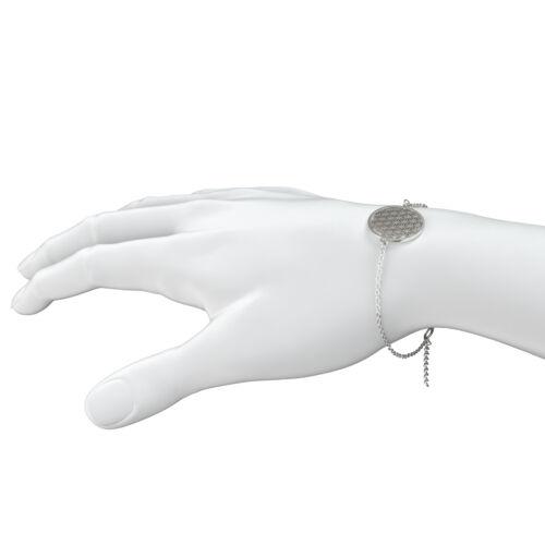 Señora armkettchen con remolque flor de la vida brazalete pulsera bisutería