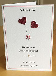 wedding insert examples