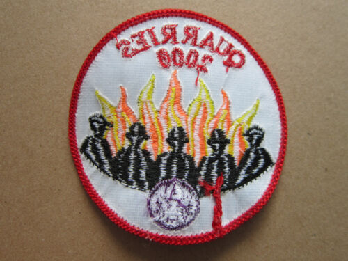 Quarries 2000 Cloth Patch Badge Boy Scouts Scouting L3K B