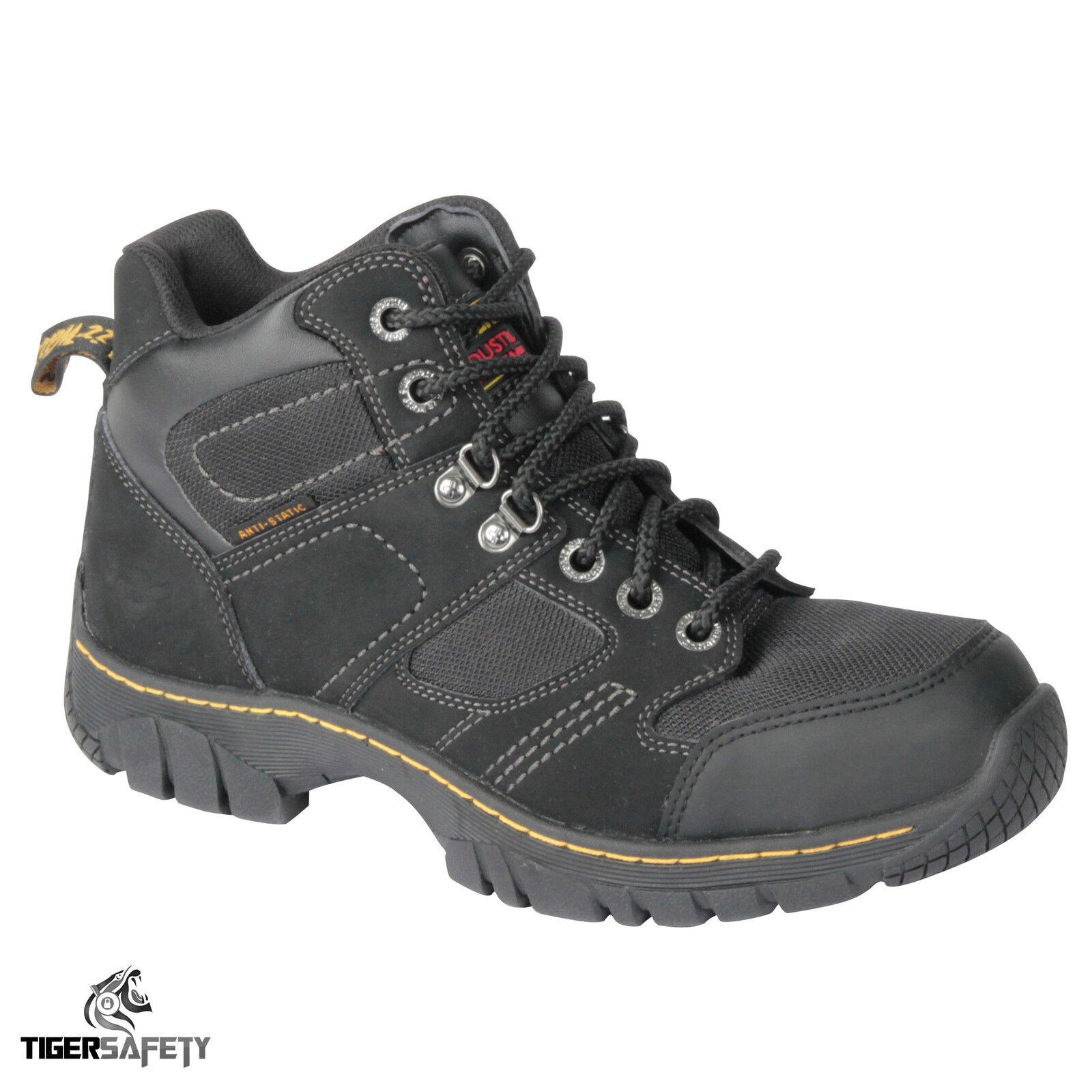 DR Martens DM Acciaio Docs BENHAM ST in Acciaio DM Leggero Punta In Pelle Stivali di Sicurezza PPE 8ca355