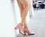 Women-039-s-Mary-Jane-Buckle-Ankle-Strap-High-Heels-Pointed-Toes-Block-Shoes-Casual thumbnail 3