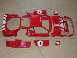 1-8-Pocher-Rivarossi-Ferrari-F40-K58-Complete-Metal-Body-Used-L-K
