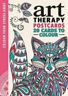 Art Therapy Postcards 9781782434979 Michael O'mara Books Ltd 2015 Cards