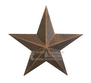 Metal Barn Star Rustic Copper Texas Tin