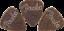 3 Fender Ukulele 351 Felt Pick Pack 3MM  qty