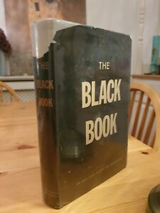 1946 First Edition The Black Book The Nazi Crime Against The Jewish People