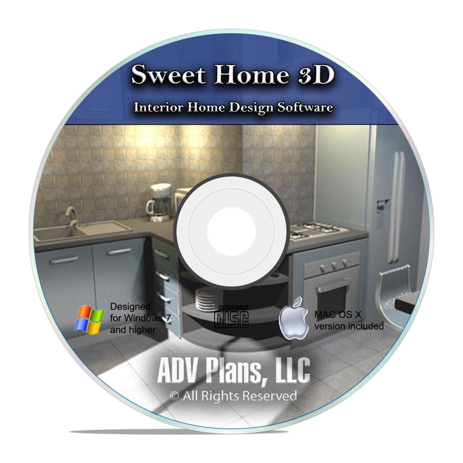 Home Interior Design Software Architecture Remodel Kitchens Bedrooms Cd F15 For Sale Online Ebay