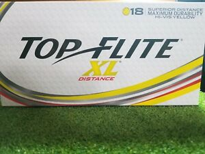 New-2016-Top-Flite-XL-Distance-Yellow-18-Pack-Golf-Balls