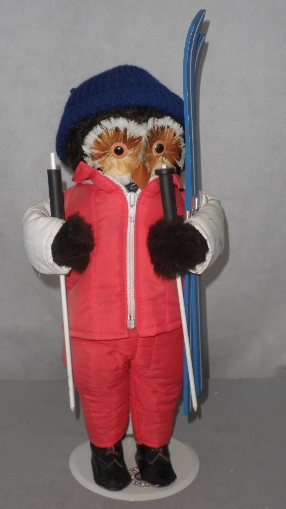 calidad auténtica Juguete Vintage Búho Figura Muñeco Muñeco Muñeco por juguetes de la selva LONDRES-Invierno esquiador con la 1970 de esquí  la calidad primero los consumidores primero