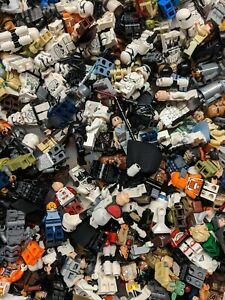 Lot-de-4-Random-LEGO-Star-Wars-Minifigures-Soldat-Clone-Droid-Jedi-pilote