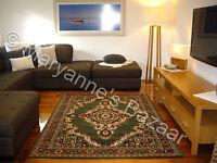 Large Floor Rug Carpet Patterned Modern Designer 230 X 160 Free Delivery