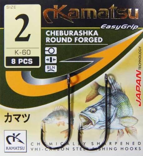 Fischen Runde Jigger Cheburashka Mikro Spitze 60-80 Haken Drop Shot Bln